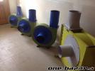 Transportné ventilátory, odsávanie pilín