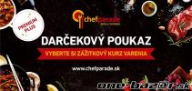 Poukaz na kurz varenia Chefparade
