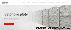Betónové ploty -  priamo od výrobcu
