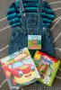 Balíček oblečenie + knižky
